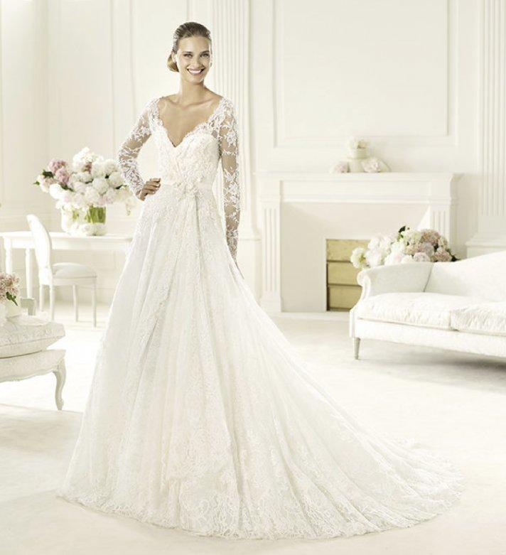 11 gorgeous 2013 wedding gowns by elie saab 2013 wedding dress elie saab bridal collection for pronovias birgit 2 junglespirit Gallery