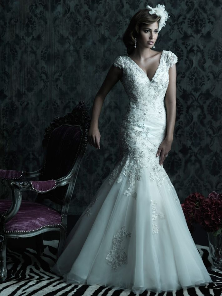 2013 wedding dress Allure Couture bridal gowns C221