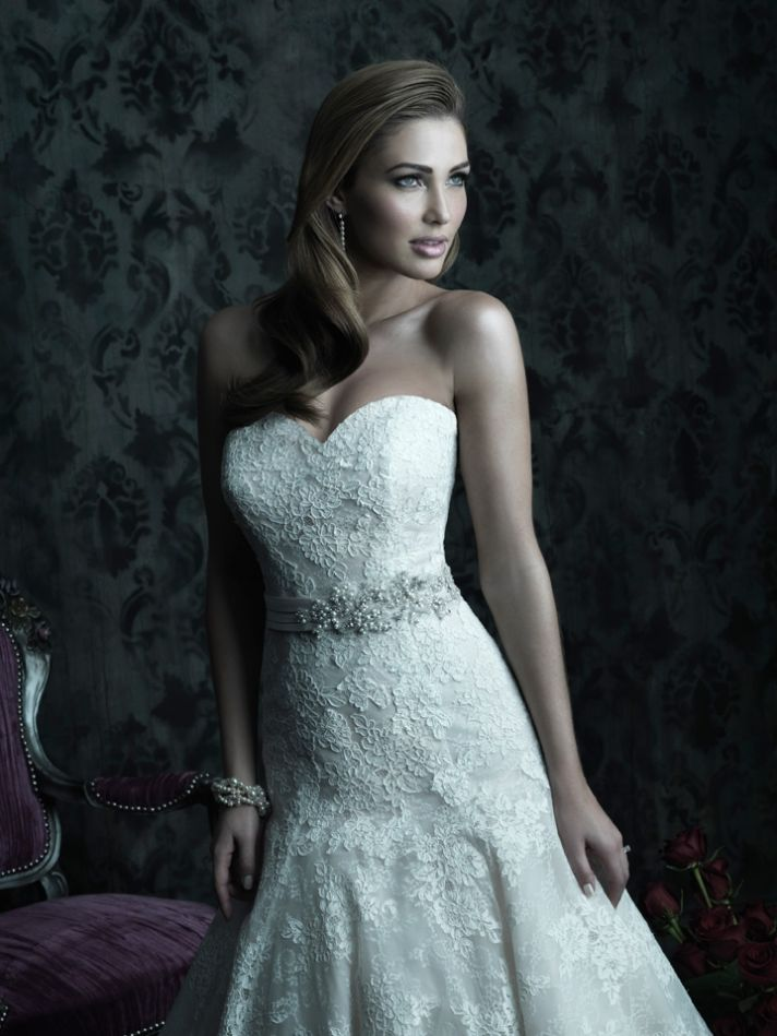 2013 wedding dress Allure Couture bridal gowns c228