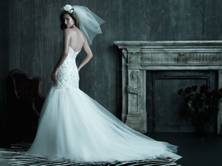 2013 wedding dress Allure Couture bridal gowns 208