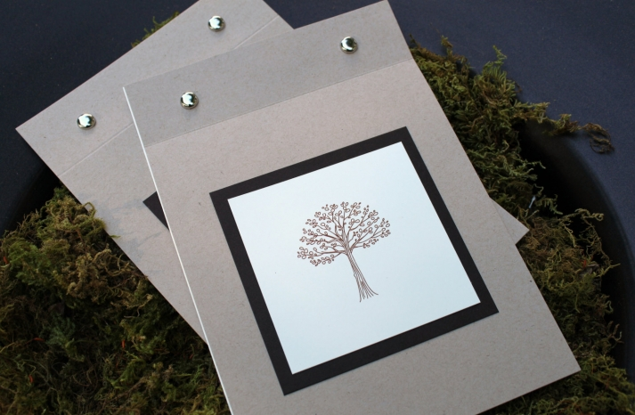 handmade wedding finds for fall weddings ceremony program