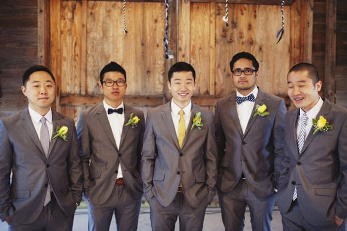 wedding fashion guide for groomsmen mix and match style 9