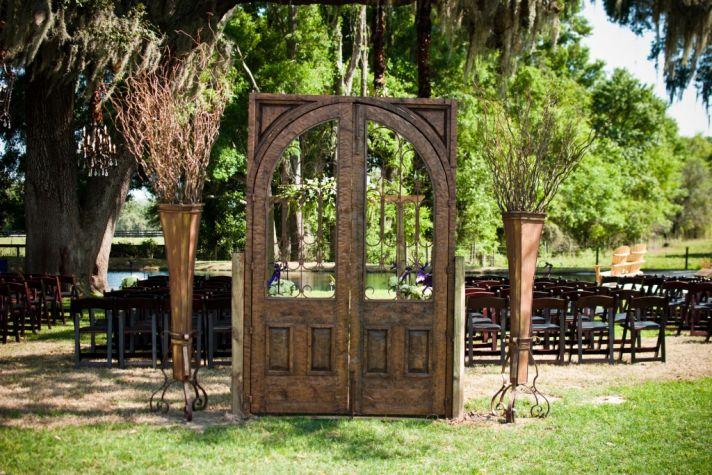 ranch wedding decor details vintage inspired weddings