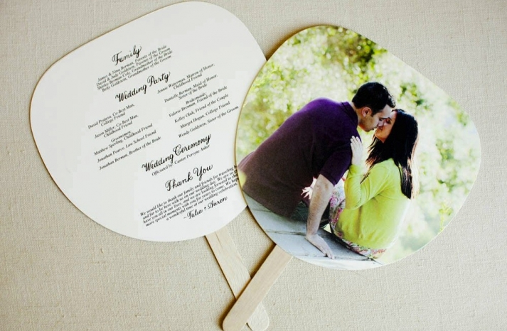 wedding invitation inspiration ceremony program weddings by Etsy photo