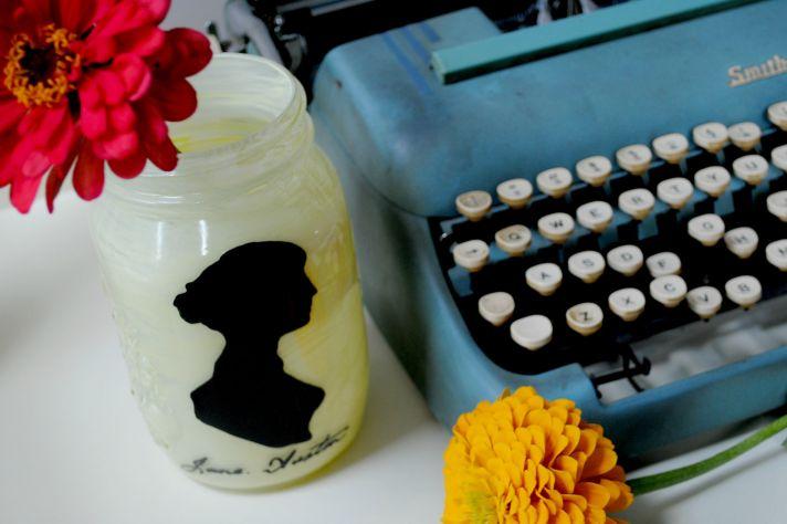 things brides love Mason Jar wedding reception decor centerpieces silhouette