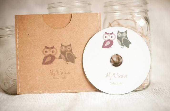 owls for the wedding 2012 reception trends handmade owl custom favors 2