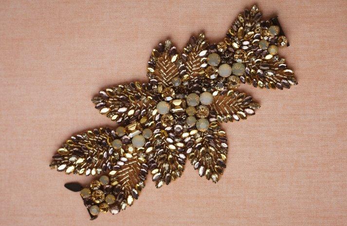 wedding jewelry for vintage brides BHLDN bridal bracelet 1