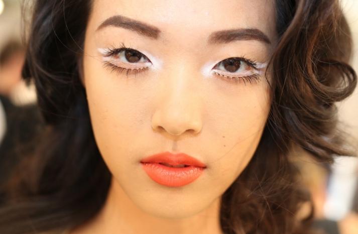 wedding hair makeup inspiration trends Milan fashion week Moschino 1
