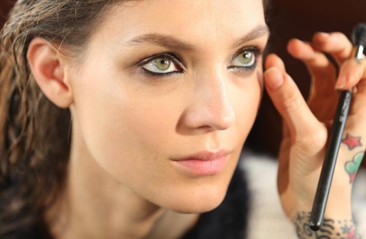 wedding hair makeup inspiration trends Milan fashion week lanvin 1