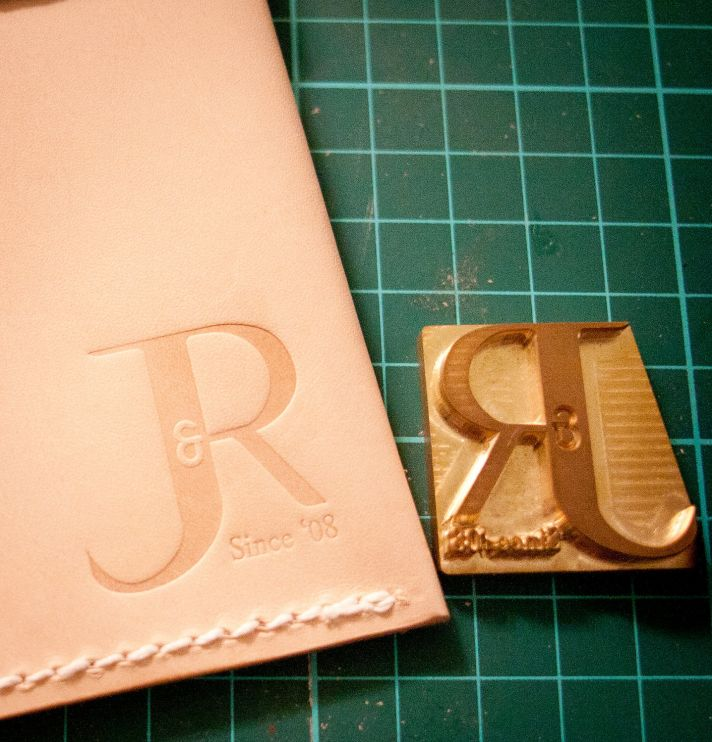 5 easy ways to personalize the wedding DIY weddings leather stamp