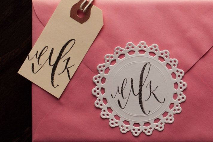 5 easy ways to personalize the wedding DIY weddings custom monogram