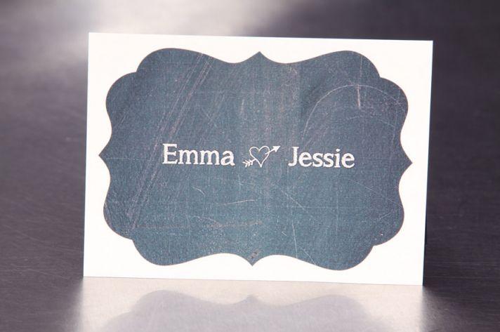 5 easy ways to personalize the wedding DIY weddings chalkboard stickers