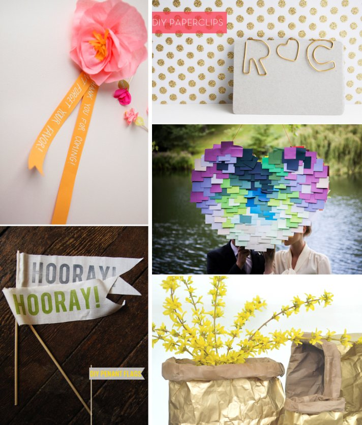 5 easy DIY wedding projects for modern brides