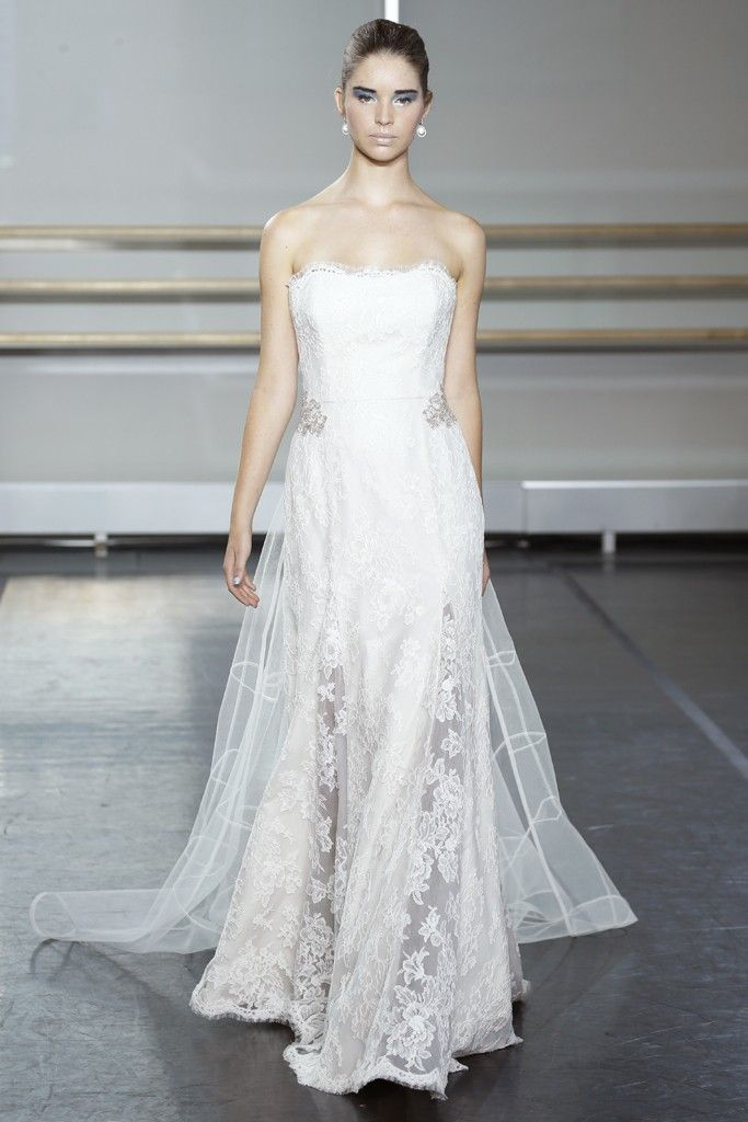 fall 2013 wedding dress trends bridal fashion Marchesa rivini