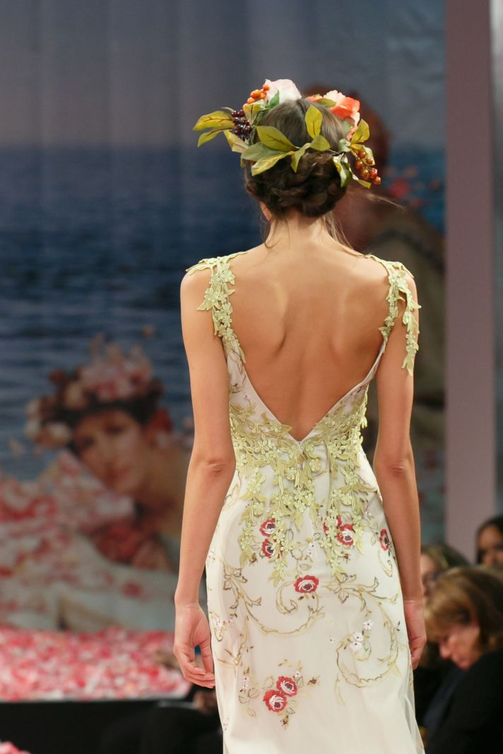 2013 wedding dress by Claire Pettibone An Earthly Paradise bridal collection Olivia