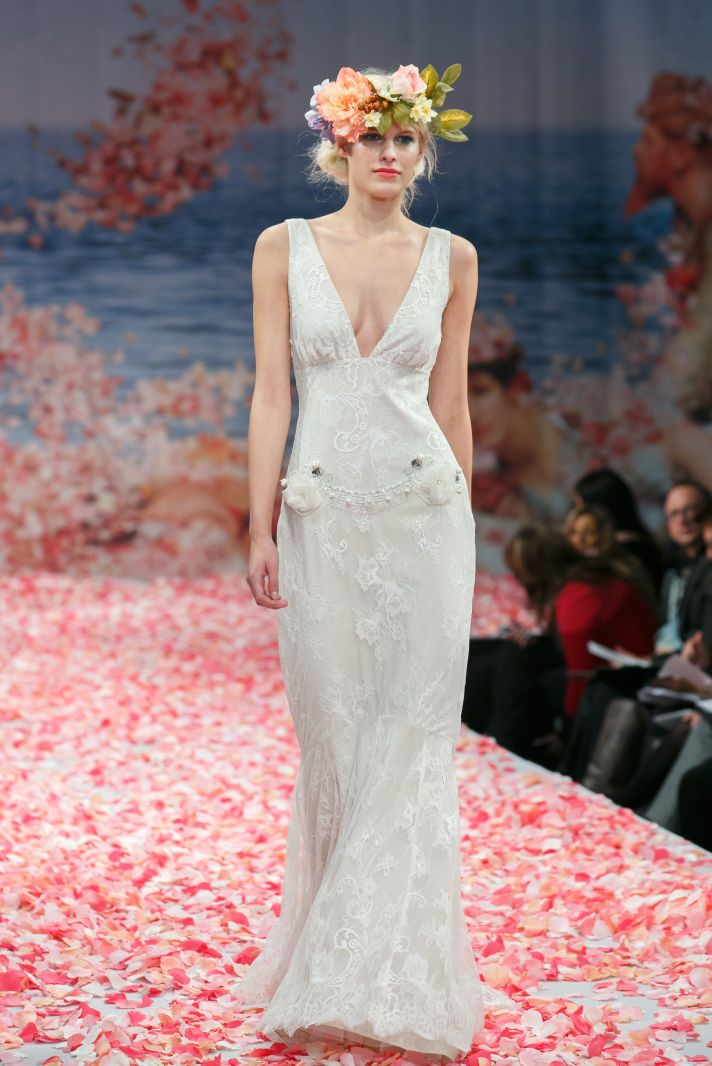 2013 wedding dress by Claire Pettibone An Earthly Paradise bridal collection Laurence