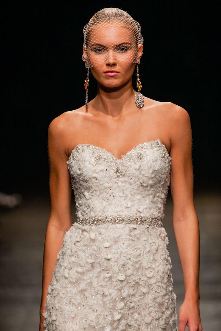 Spring 2013 wedding dress Lazaro bridal gowns 3311 detail