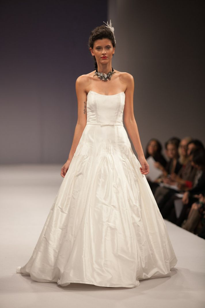 Anne Barge wedding dress Fall 2013 bridal Margaux