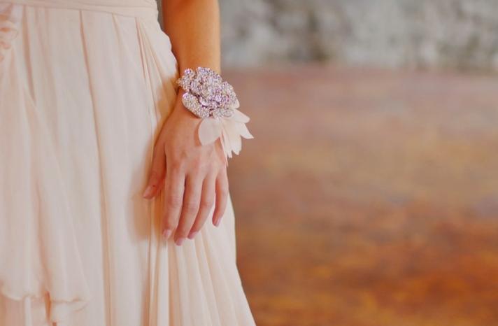 bridal cuff bracelet handmade wedding accessories 19