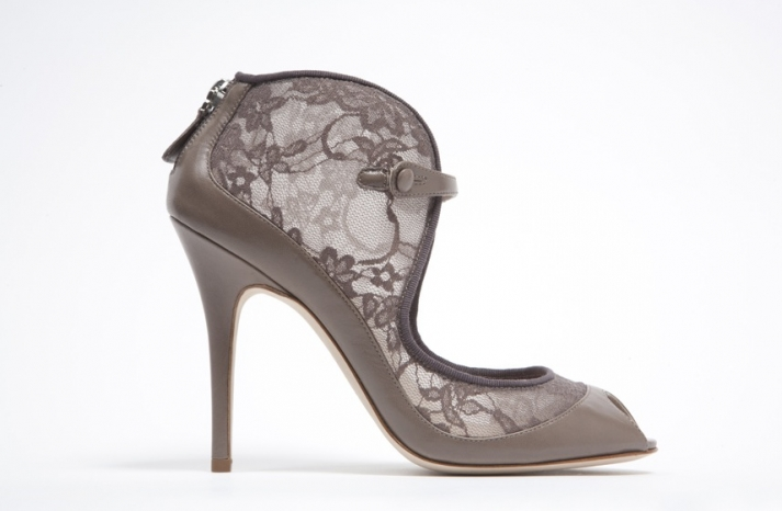 wedding shoes by monique lhuillier Spring 2013 bridal heels 10