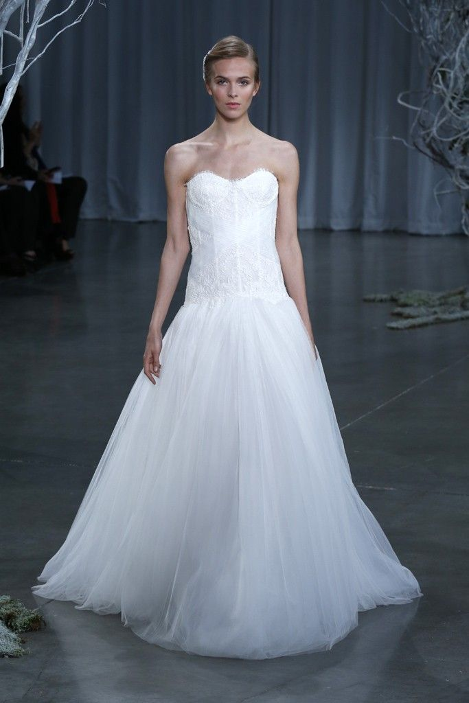 Fall 2013 wedding dress Monique Lhuillier bridal gowns Lovely