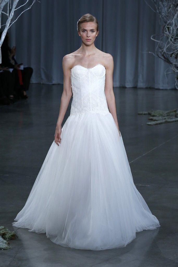 Fall 2013 wedding dress Monique Lhuillier bridal gowns Lovely