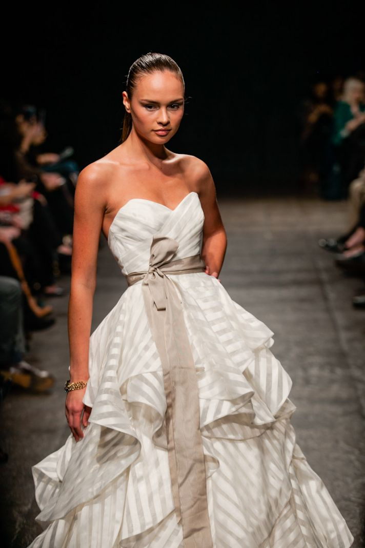 new wedding dresses JLM couture Spring 2013 bridal Hayley Paige 6315 detail