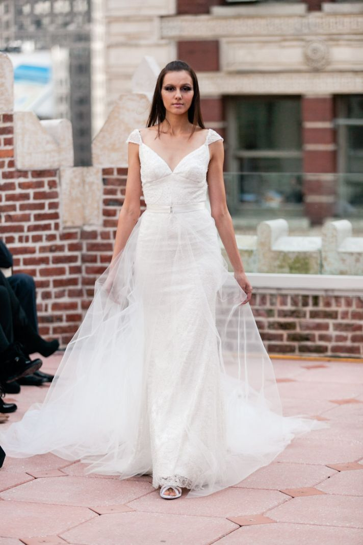 Fall 2013 wedding dress Anne Bowen bridal gowns Isidore