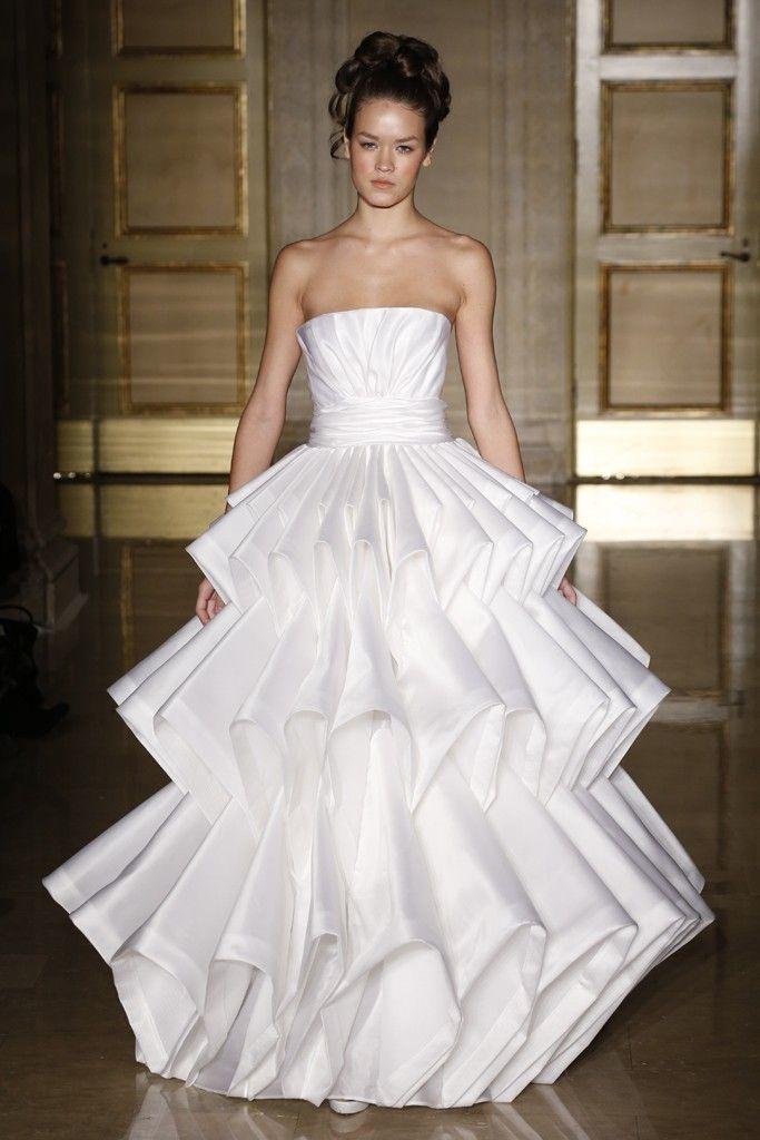 Fall 2013 wedding dress Douglas Hannant bridal gowns 11