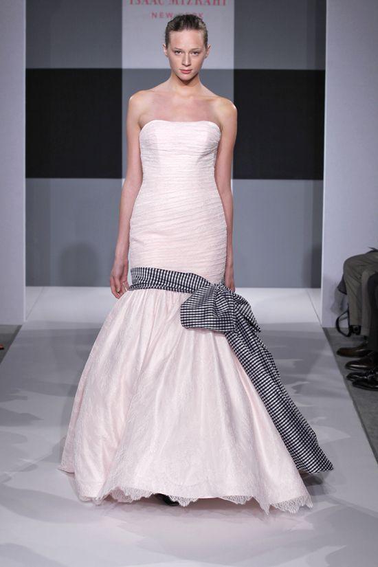 Spring 2013 wedding dress Isaac Mizrahi Spring 2013 bridal 4