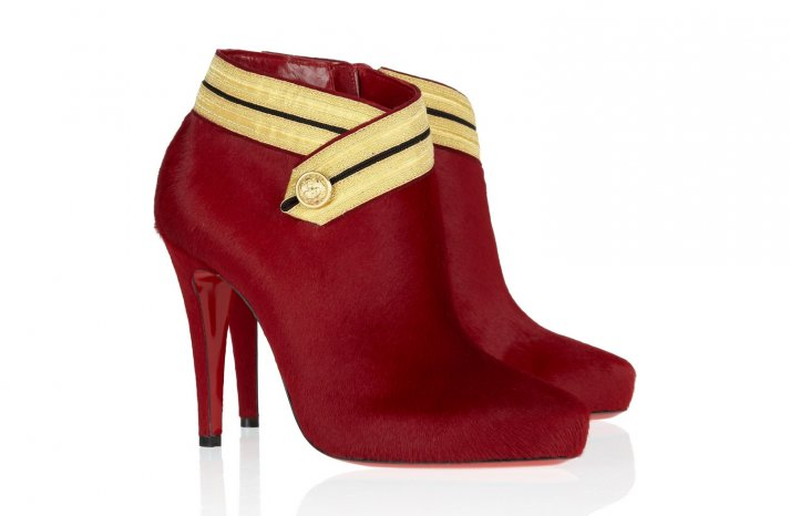 Red Wedding Accessories Christian Louboutin bridal boots