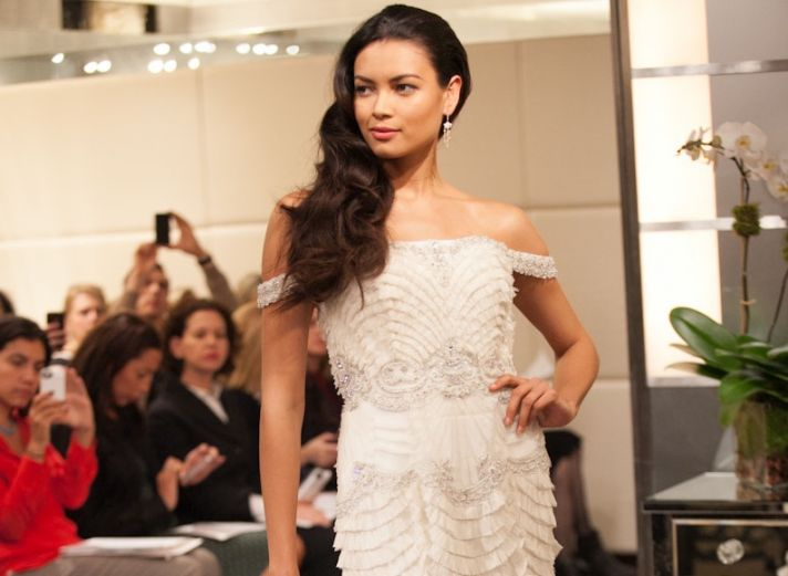Wedding Hairstyle Trends from Fall 2013 Bridal Market loose waves 2