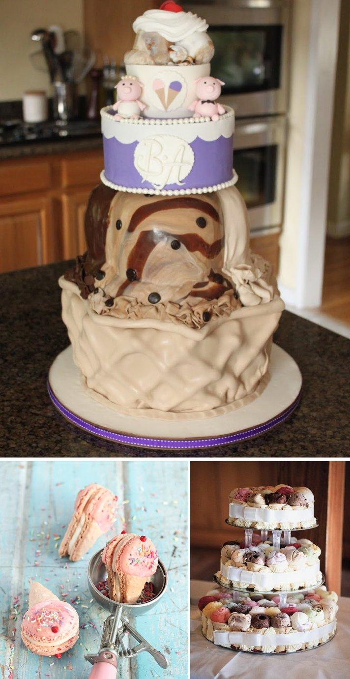 Rainbow Wedding Cakes 59 Best wedding cake alternatives Ice