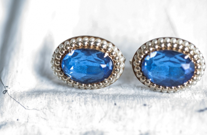 Something Blue for the Bride Splurge or Save earrings