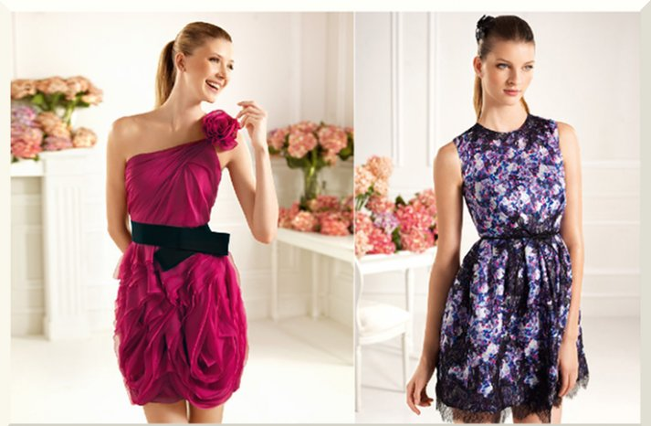Bridesmaids Dresses for the Fashion Forward Wedding Party Pronovias 2013 6
