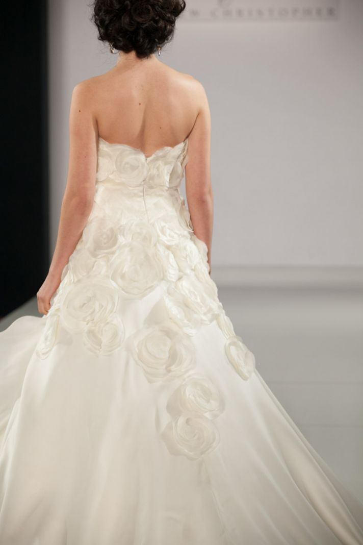 Fall 2013 wedding dress by Matthew Christopher bridal 2