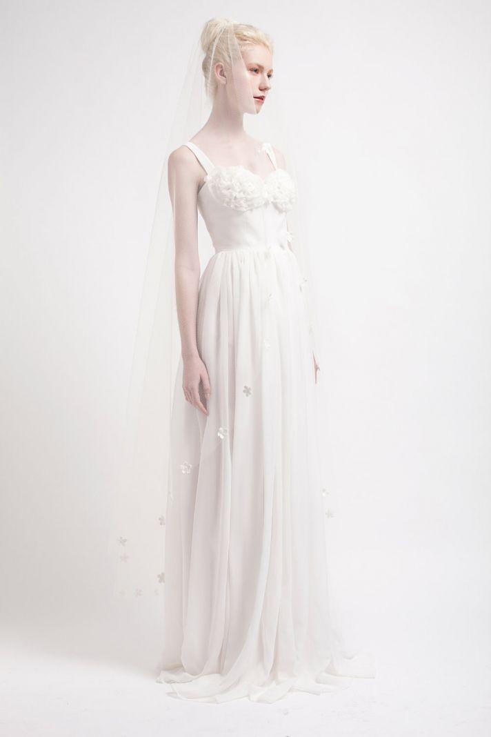 Handmade Wedding Dresses Bridal Designers to Watch Kelsey Genna Flowercup
