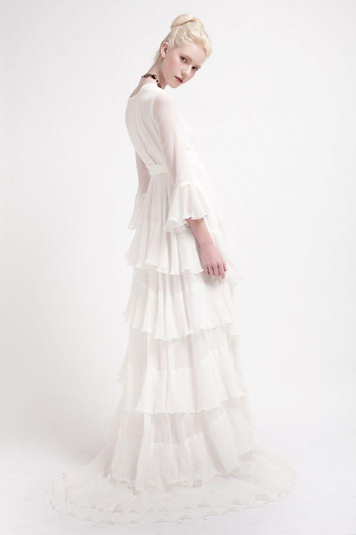 Handmade Wedding Dresses Bridal Designers to Watch Kelsey Genna Florence 3