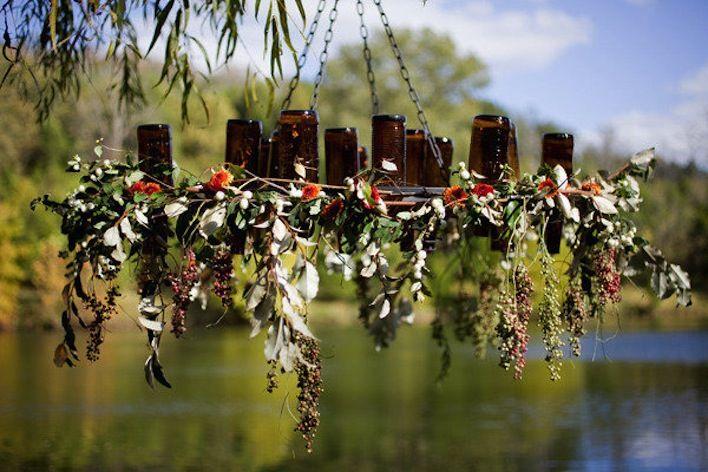 Wedding Ideas We Love Floral Adorned Chandeliers 9