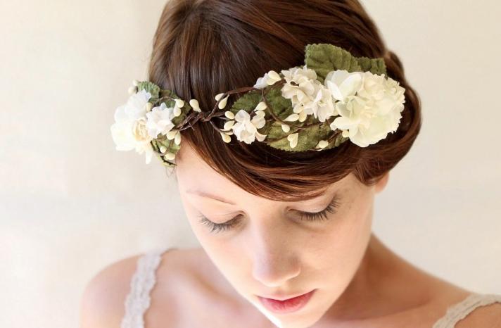 Rustic Wedding Ideas Woodland Weddings by Etsy bridal crown