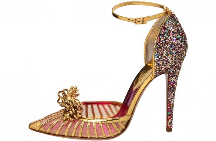 Wedding Accessories Inspiration Shimmery Bridal Heels bold