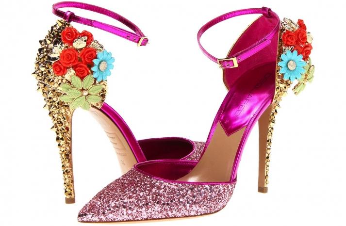 Wedding Accessories Inspiration Shimmery Bridal Heels 13