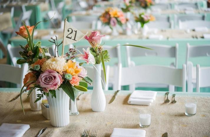 Unique Wedding Reception Table Numbers Handmade Weddings 9