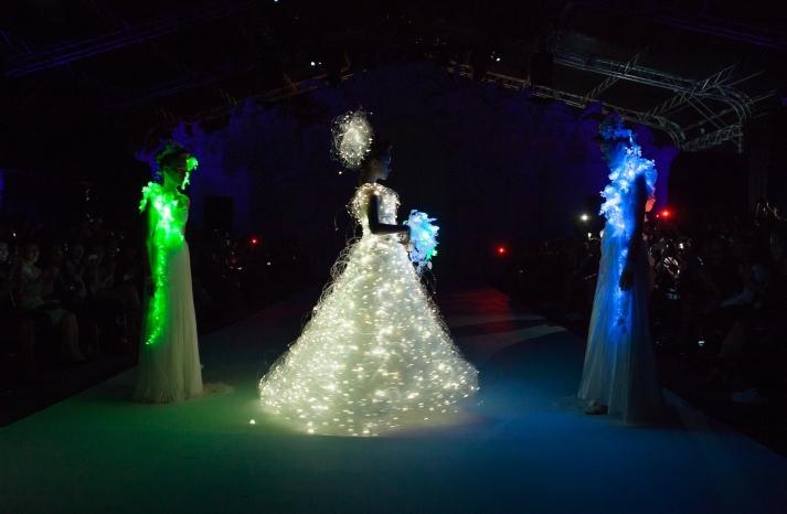 Dramatic Bridal Couture Yumi Katsura 2013 Wedding Dress Bridesmaid Gowns 4
