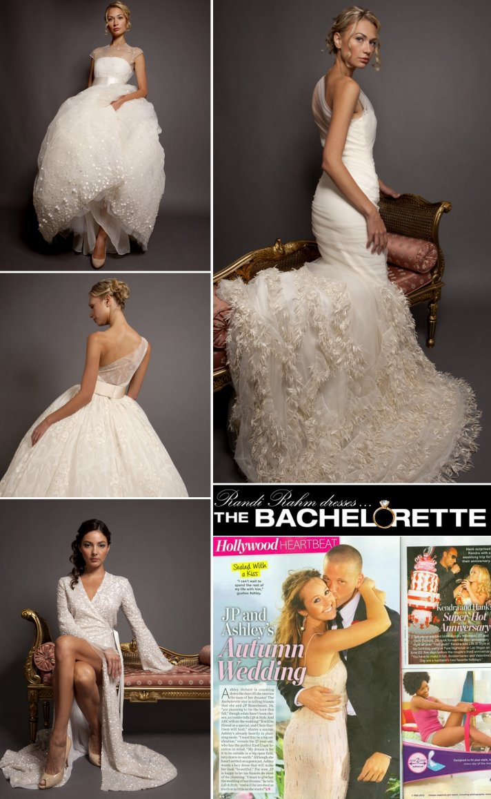 Ashley Hebert Wedding Dress Designer Randi Rahm bridal gowns 4