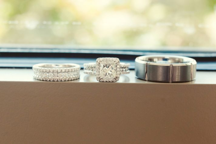 Classic Spring Wedding Engagement Ring Wedding Bands