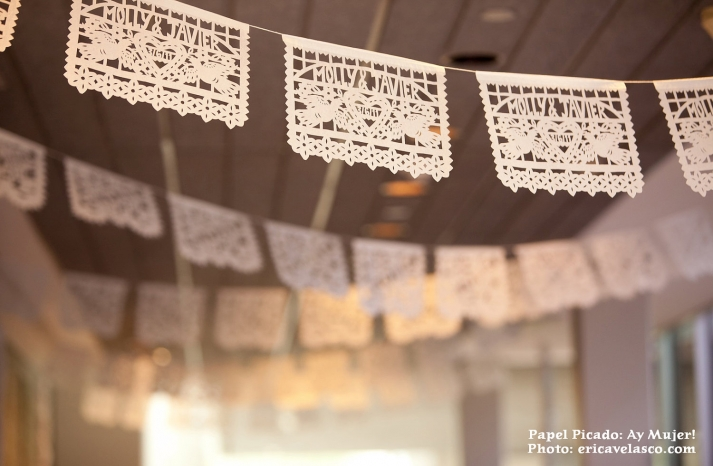 Personalized Wedding Garland with Bride Groom names