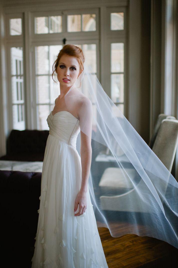 Classic Bridal Veil Transparent Tulle