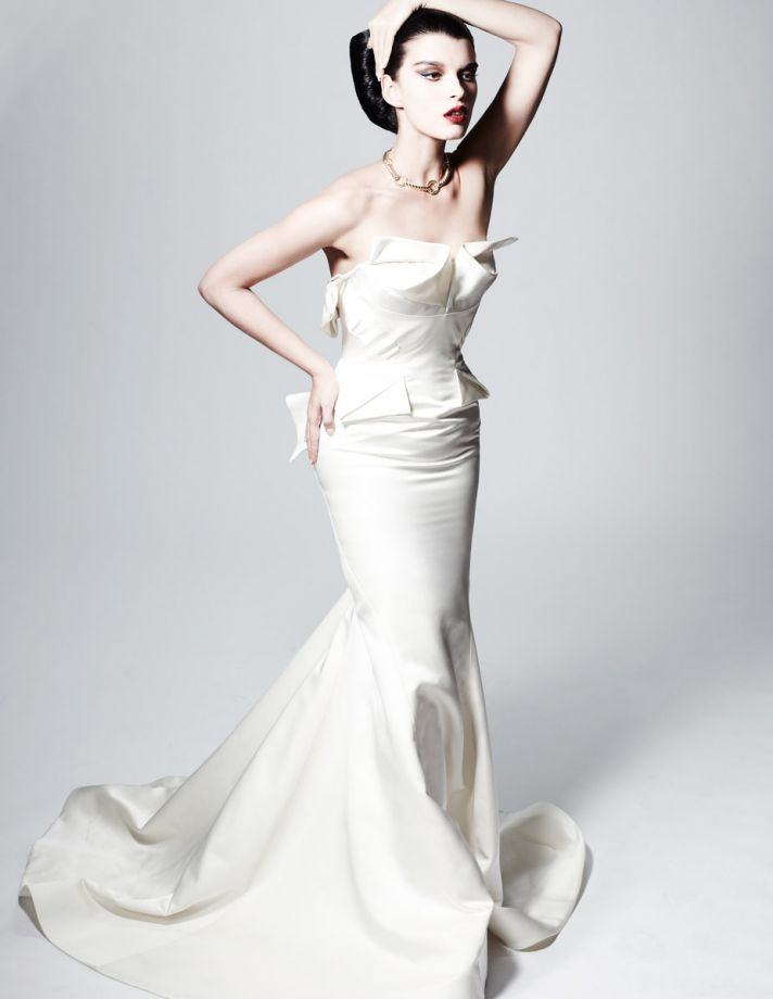 Wedding Style Trends from Pre Fall 2013 Modern Folds