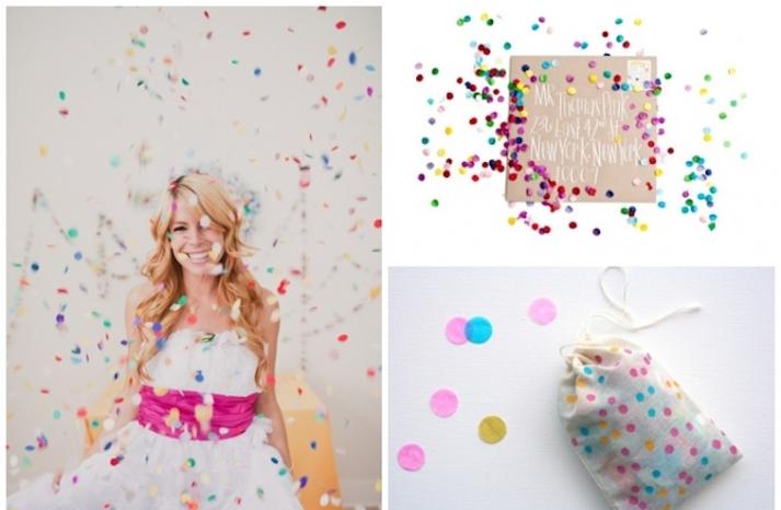 Confetti Wedding Inspiration